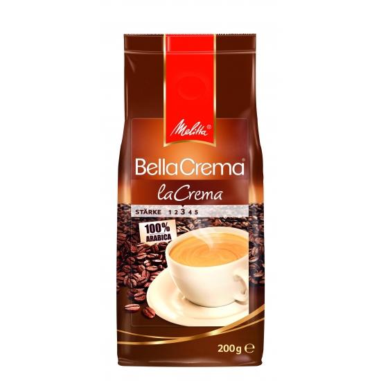 Melitta Кофе BellaCrema Café LaCrema жареный в зернах 200 гр
