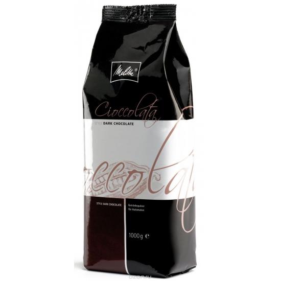 Молочно-шоколадный порошок Melitta Cioccolata Dark 1 кг