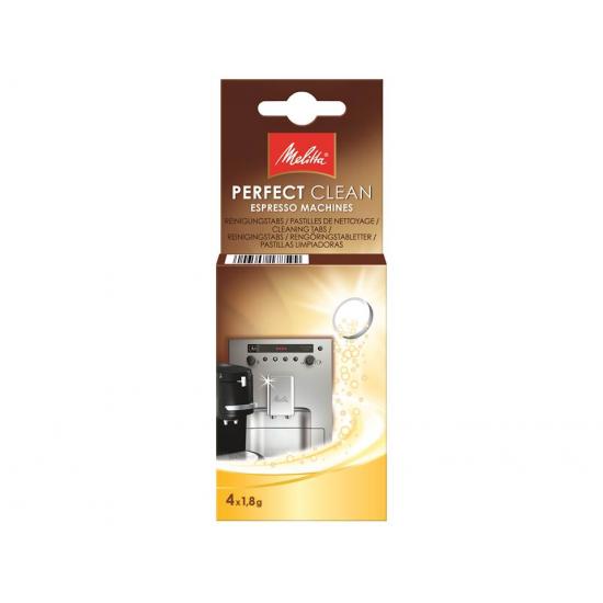 Таблетки для очистки от кофейных масел Melitta 4*1.8 г.