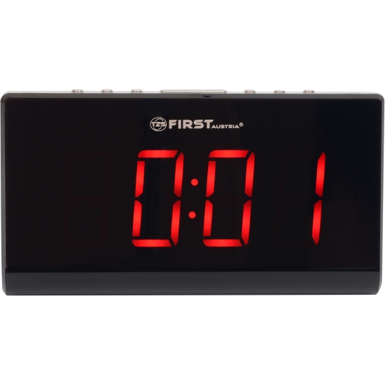 Радиочасы First FA-2416-1 Black