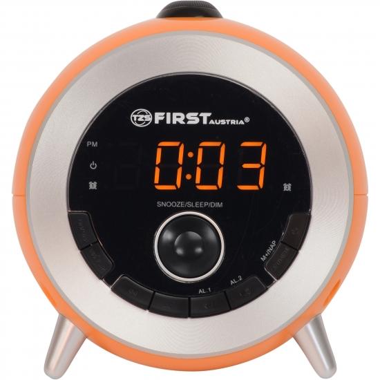 Радиочасы First FA-2421-6 Orange