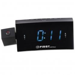 Радиочасы с проектором First FA-2421-8 Black