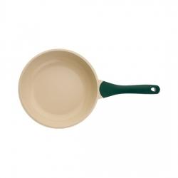 Сковорода BIOSTAL Bio-FP-26 зеленый/бежевый 26 см