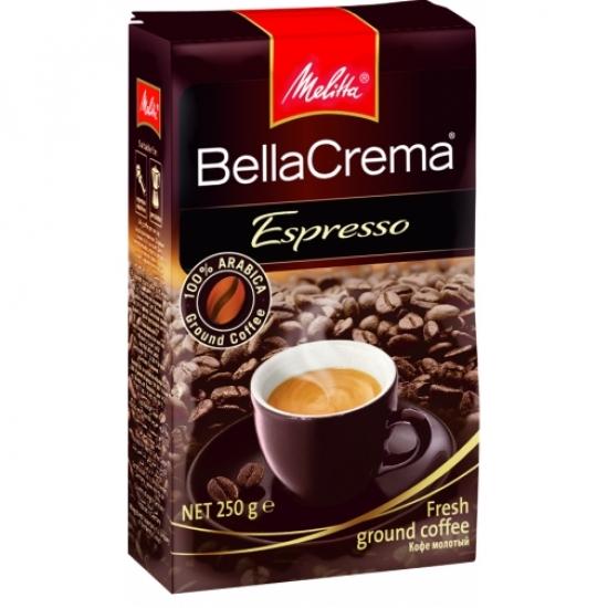 Melitta Кофе BellaCrema Espresso жареный молотый 250 гр