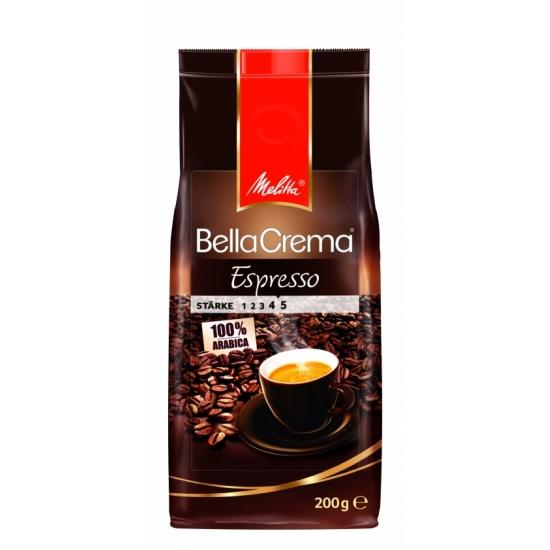 Melitta Кофе BellaCrema Café Espresso жареный в зернах 200 гр