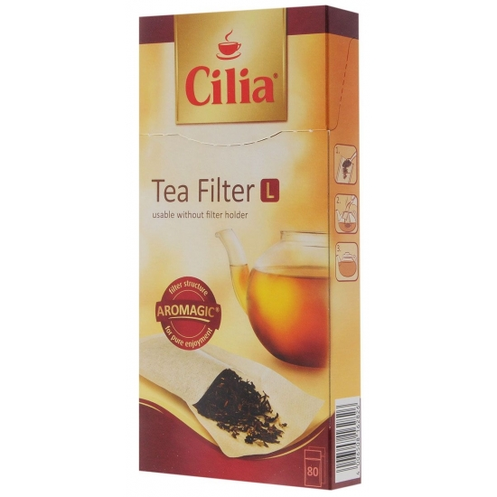 Фильтры для чая Melitta Cilia, 80 шт