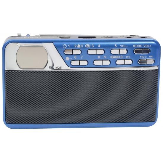 Переносная акустическая система FIRST FA-1925-1 Blue
