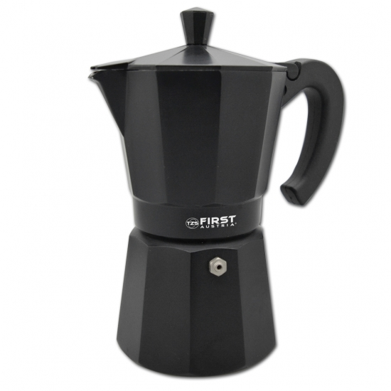 Гейзерная кофеварка First FA-5471 Black