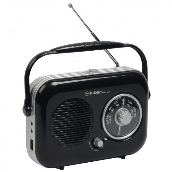 Радиоприемник First FA-1906 Black