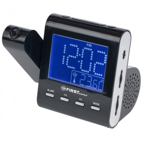 Радиочасы с проектором First FA-2421-1 Black