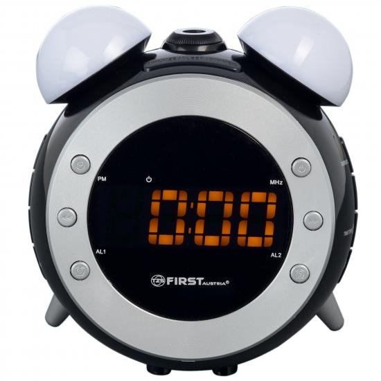Радиочасы с проектором First FA-2421-4 Black