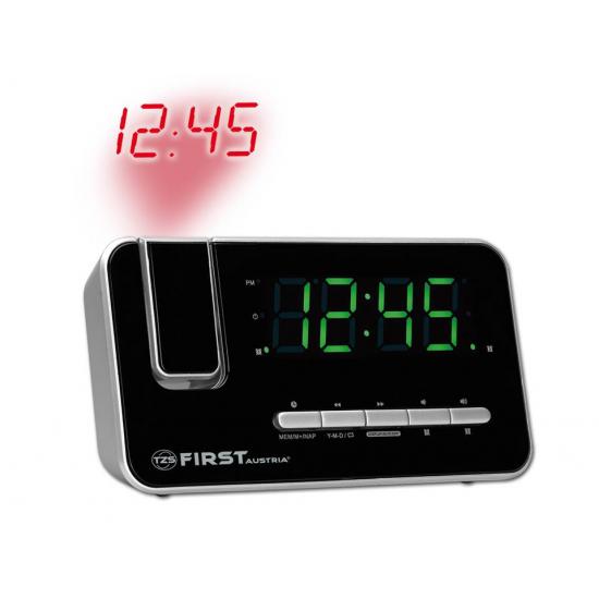 Радиочасы с проектором First FA-2421-7 Silver