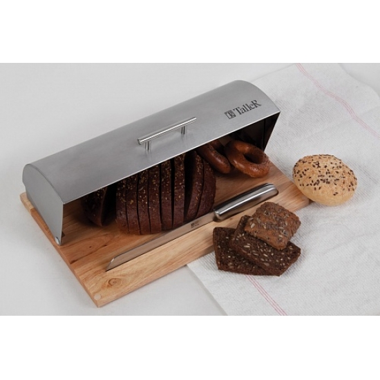 Хлебница TalleR TR-1974 с ножом для хлеба