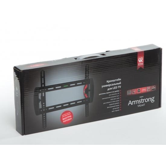 "VITAX Кронштейн VX 210T, Armstrong LED/LCD тв 27""-42"",(до 35кг)black"