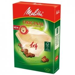 Фильтры бумажные Melitta для заваривания кофе 1х4/40