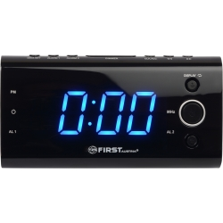 Радиочасы First FA-2419-3 Black