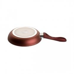 Сковорода BIOSTAL Bio-FPF-24-IB коричневая/бежевая 24 см